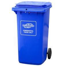 Confidential waste bin 240l