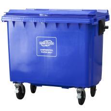Confidential waste bin 660l