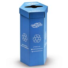 Hexagonal waste bin