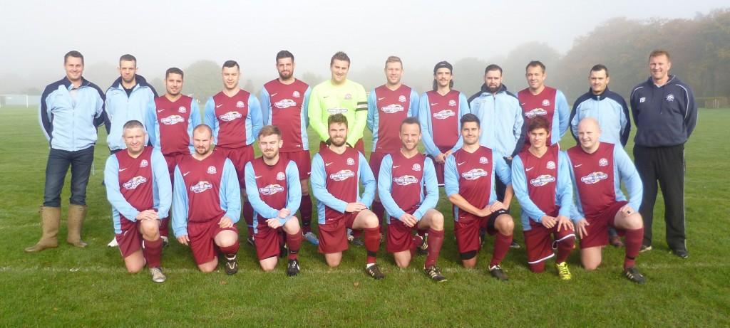 Dussindale Rovers team