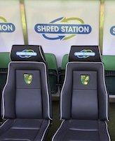 Norwich City FC dugout small image