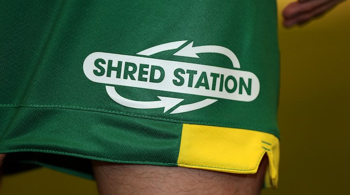 Back-of-shorts sponsor for Norwich City Football Club
