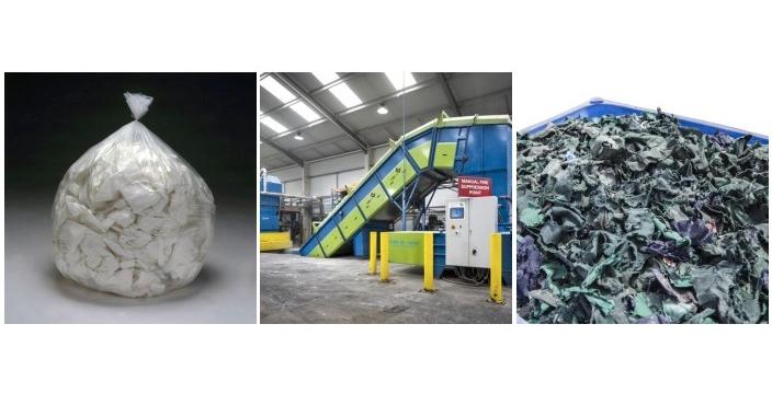 uniform and clothing shredding