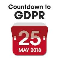 Countdown to GDPR calendar