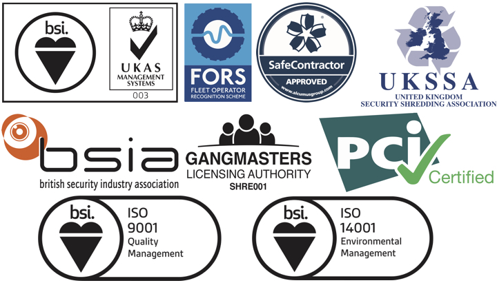 Combination of accreditation logos