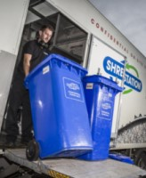 eco-friendly mobile shredding vehicle
