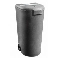 Confidential waste bin - 180 litre front