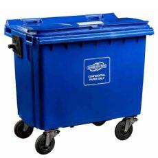 Confidential waste bin - 660 triangle lock