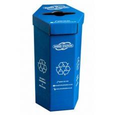 Confidential waste bin - cardboard bin bag holder
