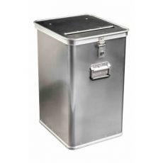 Confidential waste bin - metal
