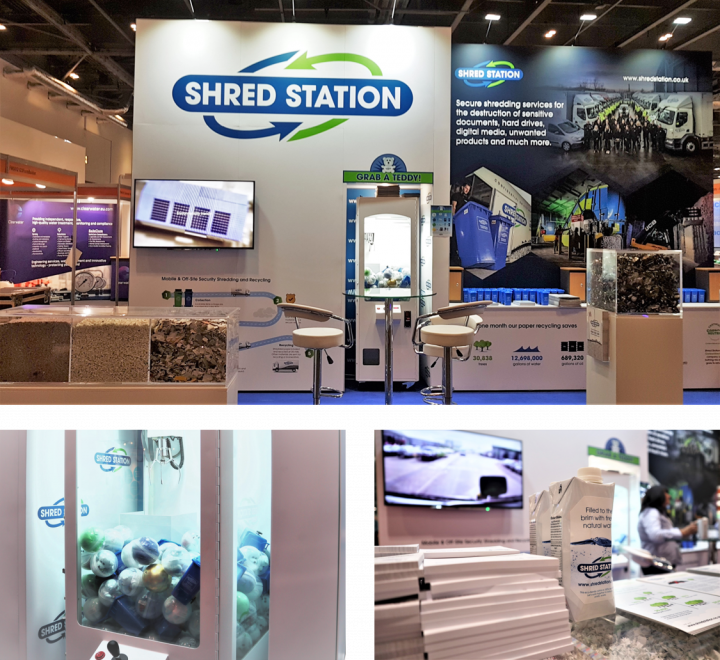 Shred Station Facilities Show Stand