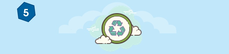 Fifth reason to use a shredding service - eco-friendly