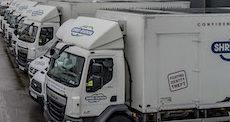 Shredding trucks