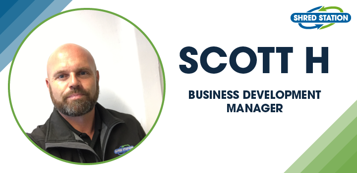 Image of Scott Howe, Business Development Manager at Shred Station Ltd.