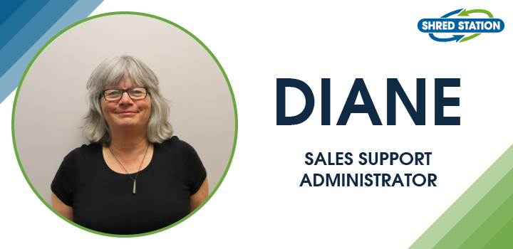 Image of Diane Barrett, Sales Support Administrator at Shred Station Ltd