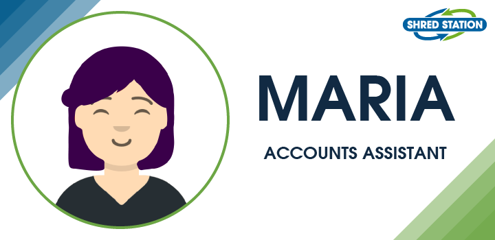Image of Maria Wheeler, Accounts Administrator at Shred Station Ltd