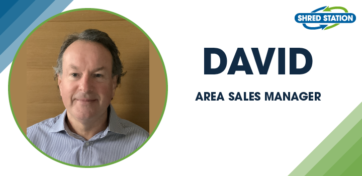 Image of David Moriarty, Area Sales Manager at Shred Station