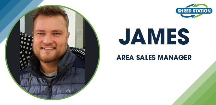 Image of James Wilson, Area Sales Manager at Shred Station