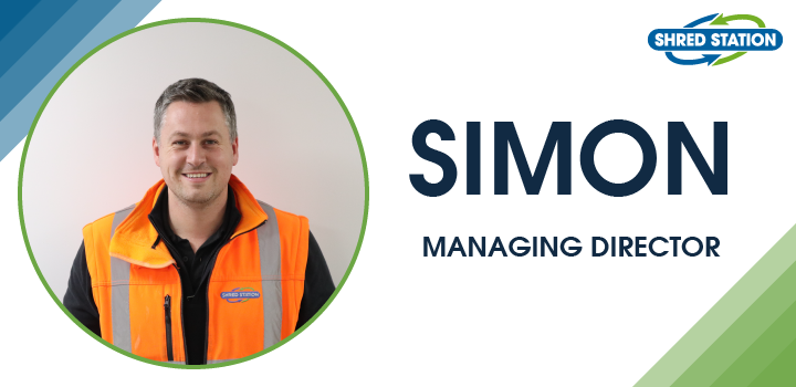 Image of Simon Franklin, Managing Director at Shred Station Limited