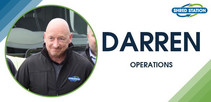 Image of Darren Richardson, Operations Staff at Shred Station Limited