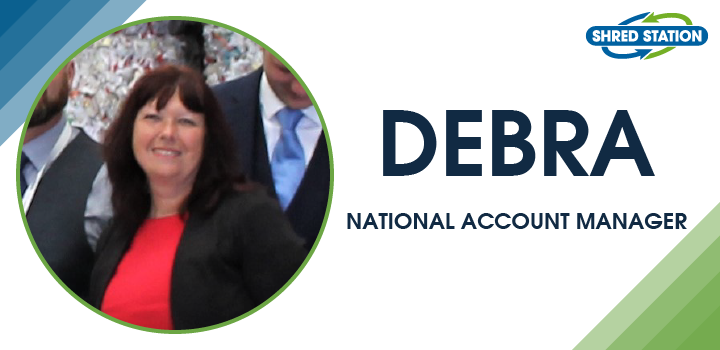 Image of Debra May, National Account Manager at Shred Station