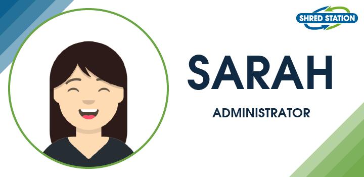 Image of Sarah Wilkes, Administrator at Shred Station Ltd