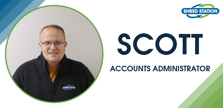 Image of Scott Taylor, Accounts Administrator at Shred Station Ltd