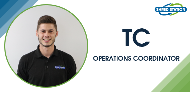Image of Thomas Cullumbine, Operations Coordinator at Shred Station Limited