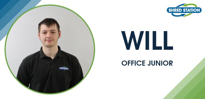 Image of Will Baker, Office Junior at Shred Station Ltd