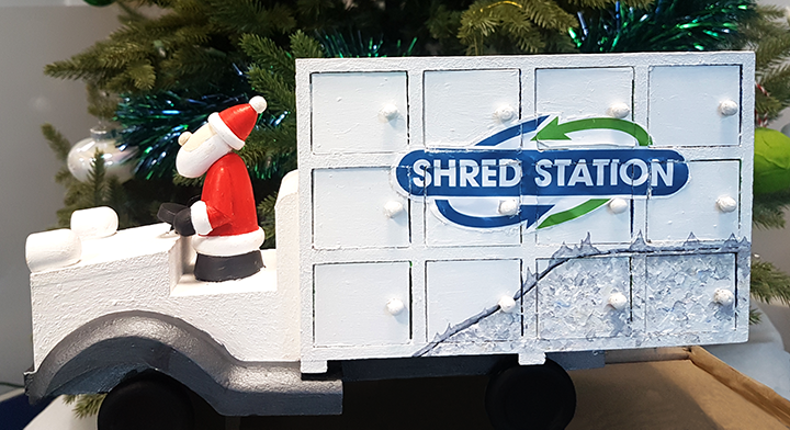 Shred Station Advent Truck