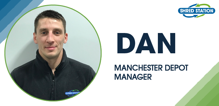 Image of Dan Varga, Manchester depot manager at Shred Station Ltd