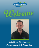 Image of Kristian Carter, Commercial Director at Shred Station.