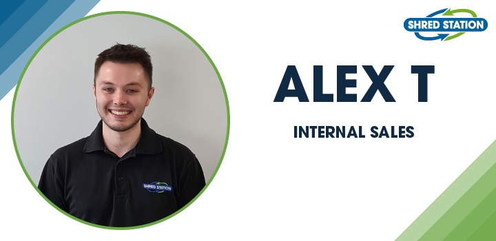 Image of Alex Tubby, Internal Sales at Shred Station Ltd