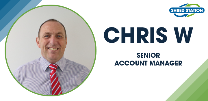 Image of Chris Willgress, Senior Account Manager at Shred Station