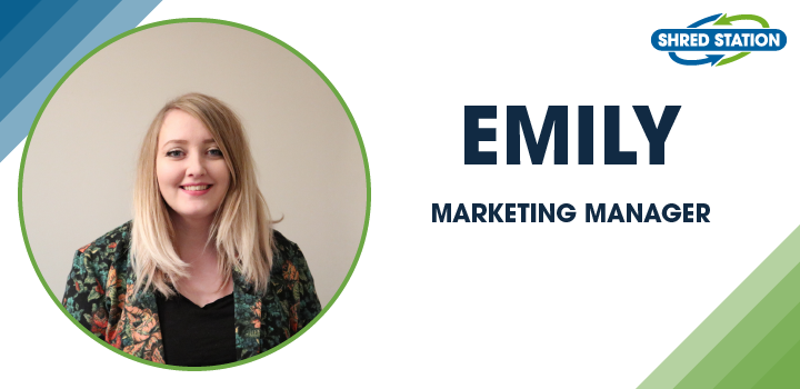 Image of Emily Bridges, Marketing Manager at Shred Station Ltd