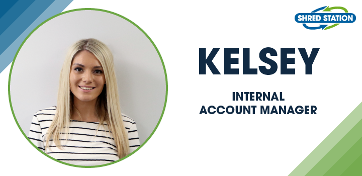 Image of Kelsey Evans, Internal Account Manager at Shred Station