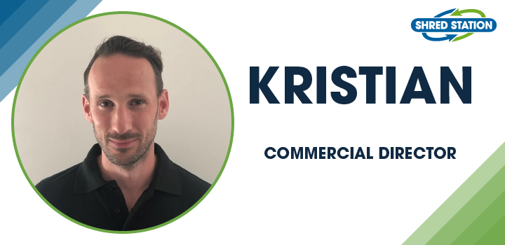 Image of Kristian Carter, Commercial Director at Shred Station Ltd