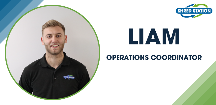 Image of Liam Brown, Operations Coordinator at Shred Station Limited
