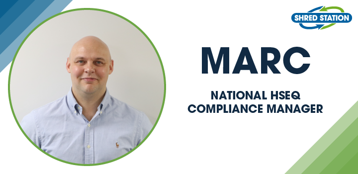 Image of Marc Smith, National HSEQ Compliance Manager at Shred Station