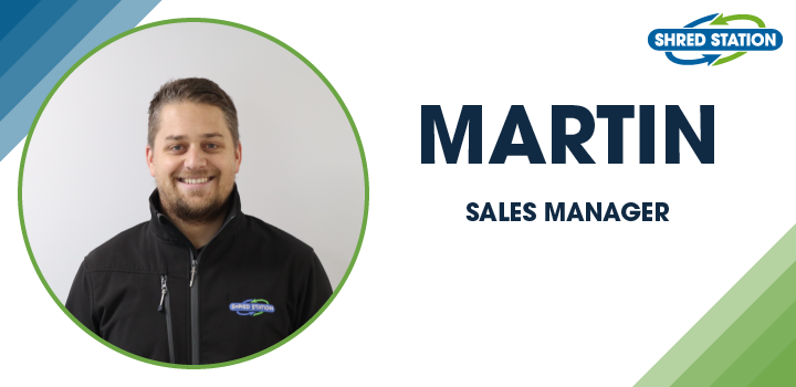 Image of Martin Emms, Sales Manager at Shred Station