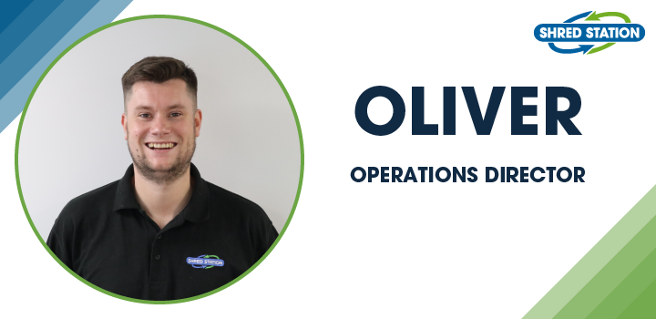 Image of Oliver Grice, Operations Director at Shred Station Limited