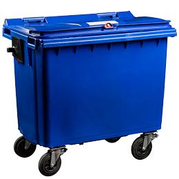 660 litre wheelie bin for storing confidential materials - Shred Station