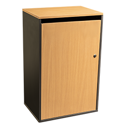 Large lockable sack cabinet to store confidential paperwork - Shred Station