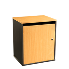 Junior sack cabinet for storing confidential materials - beech - Shred Station