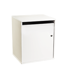 Junior sack cabinet for storing confidential materials - white - Shred Station