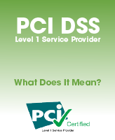 PCI DSS Level 1 Service Provider - What does it mean?