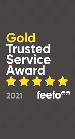 Shred Station Gold Service Award Feefo logo 7