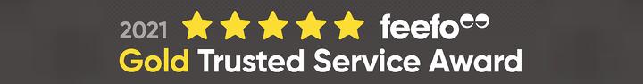 Shred Station Gold Service Award From Feefo