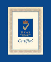 UKAS certification found on Shred Station's ISO 9001 certificate