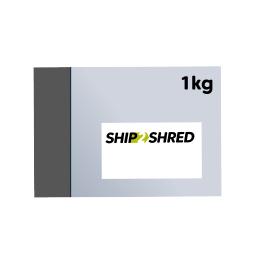 Illustration of Ship2Shred Envelope for Tracked Postal Shredding Services